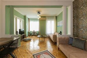 3 Bedroom Furnished Apartment in the Heart of Cıty, Taksim Square, SH 188